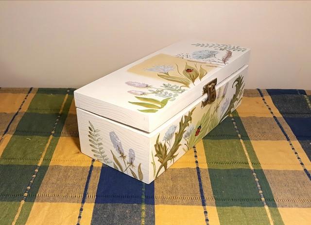 """Dėžutė arbatai """"Boružės sapnas"""""""